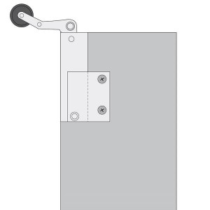 010215 Türdämpfer Aufzugschiebetüren Haushahn Montage