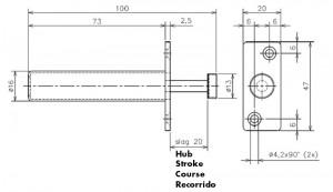 Release buffer dimensions