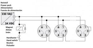 Rauchmelder Rauchschalter RM 2000 Montage