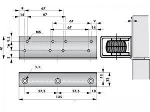 Cornier montage VS 2000 - 205221