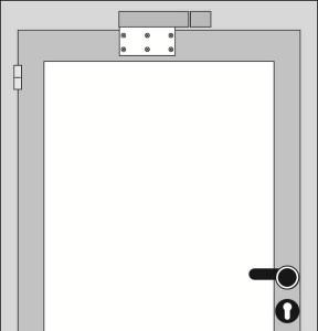 Amortisseur de porte VS 2000 Montage