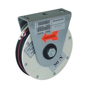 Enrouleurs à ressort et amortisseurs hydrauliques pour portes corte-feu