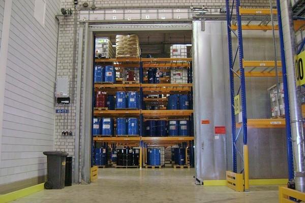 Door Operator for Fire Protection Door in Hazardous Area
