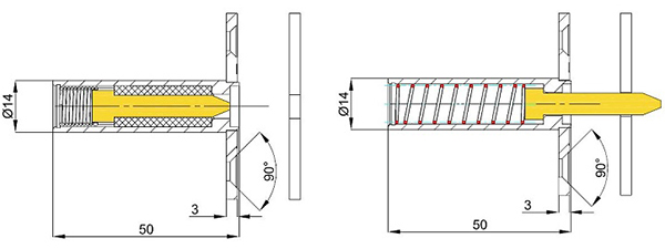 Verrouillage HLS pour portes coupe-feu - Fonction