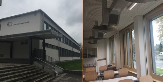 École Grafing - Bâtiment rénové