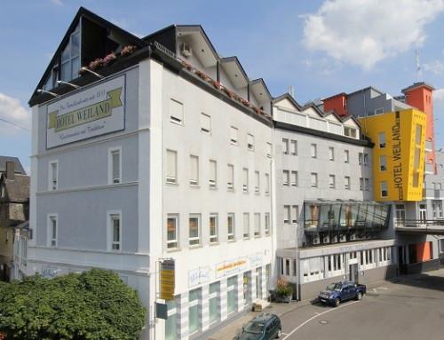Homelift DHM 500 à l'Hotel Weiland, Lahnstein