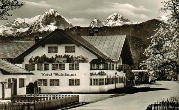 Hôtel Weinbauer env. 1950