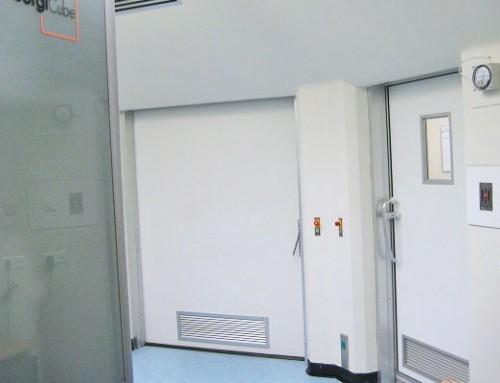 Directives relatives à l'hygiène en hôpitaux – Rattrapage d'un système sas
