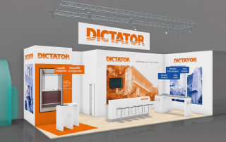New DICTATOR booth