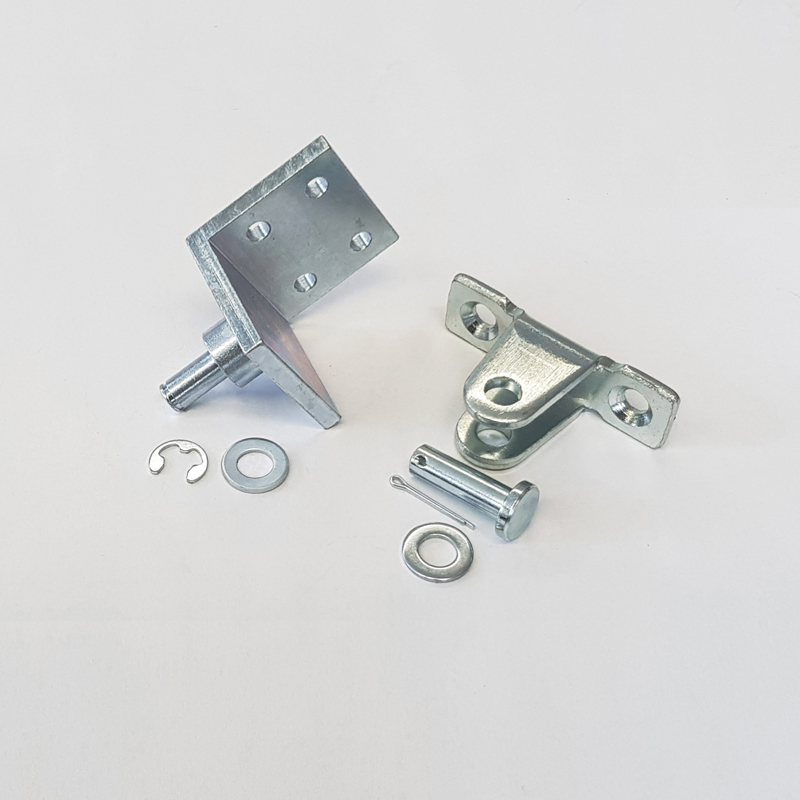 Accessoires de fixation pour les amortisseurs-limiteurs d'ouverture
