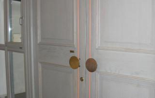 Amortisseur de porte R 1400 Porte d'entrée d'un bâtiment public