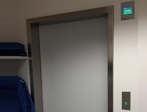 Système sas au centre hospitalier universitaire à St. Pölten
