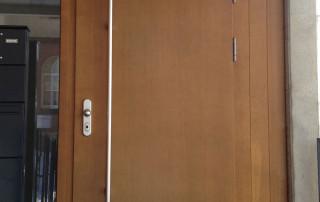 Amortisseur de porte V 1600 porte d'entrée
