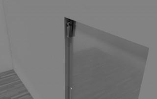 Amortisseur de porte V 1600 pour portes coulissantes