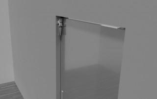 Amortisseur de porte Z 1100 pour portes coulissantes