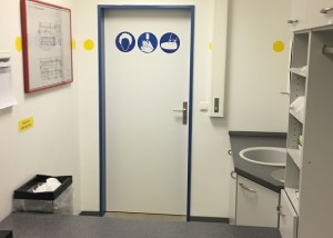 Système sas de contrôle de portes